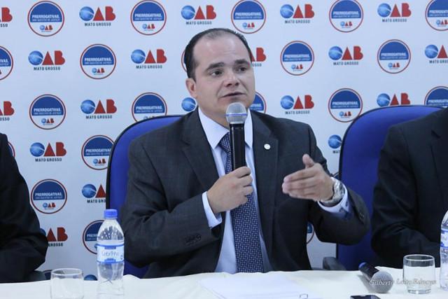 Pres. OAB-MT, Leonardo Campos